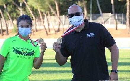 Dos títulos para los del Valdepeñas Athletics Club en la primera jornada del Campeonato Regional