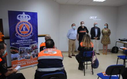 La agrupación de Protección Civil en Valdepeñas celebra un curso de soporte vital básico