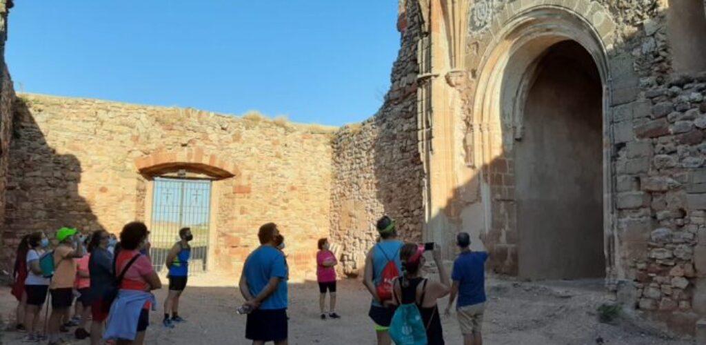 Fantástica acogida de la primera jornada de 'Senderos de Cultura' en Villanueva de los Infantes