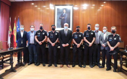 Toman posesión cuatro nuevos policías locales en Manzanares
