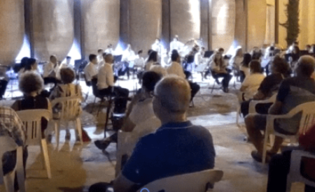"""La Unión Musical Ciudad de Valdepeñas ofrece un concierto de pasodobles en """"Las Noches de A7"""" en Valdepeñas"""