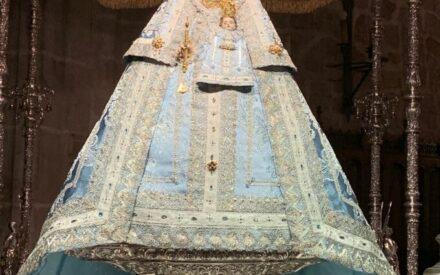 La Virgen de la Antigua ya está en la Iglesia de San Andrés de Villanueva de los Infantes