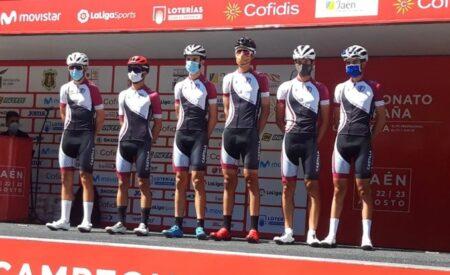 Balance muy positivo de la joven selección castellanomanchega en el Campeonato de España de carretera