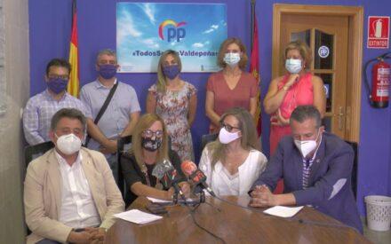 Diputados del PP visitan Valdepeñas para analizar el trabajo del Grupo Municipal Popular