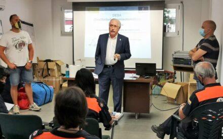 El Gobierno de CLM celebra en Ciudad Real un curso sobre el uso del desfibrilador para voluntarios de Protección Civil