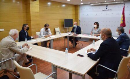 Patricia Franco se ha reunido con representantes de CRIA y Galistair para conocer el proyecto del Aeropuerto de Ciudad Real