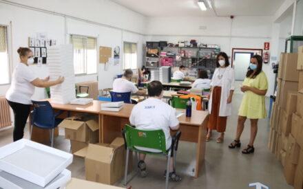 Concienciación y buena adaptación en el nuevo curso del Centro Ocupacional de Manzanares