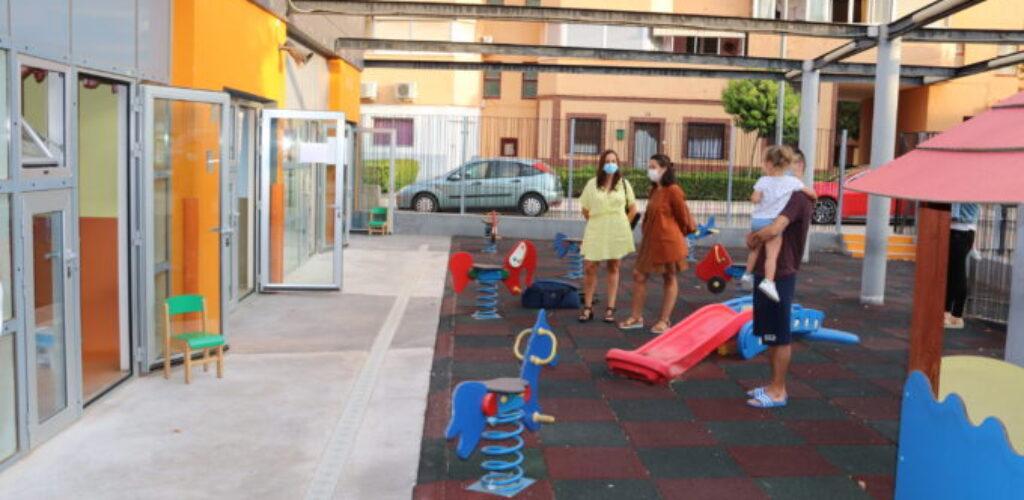 La Escuela Infantil Municipal  de Manzanares inicia el curso con 'aulas burbuja'