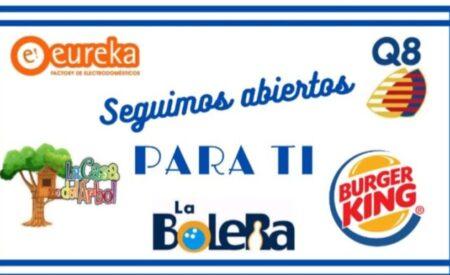 Comunicado de la zona comercial «Parquesur» de Valdepeñas