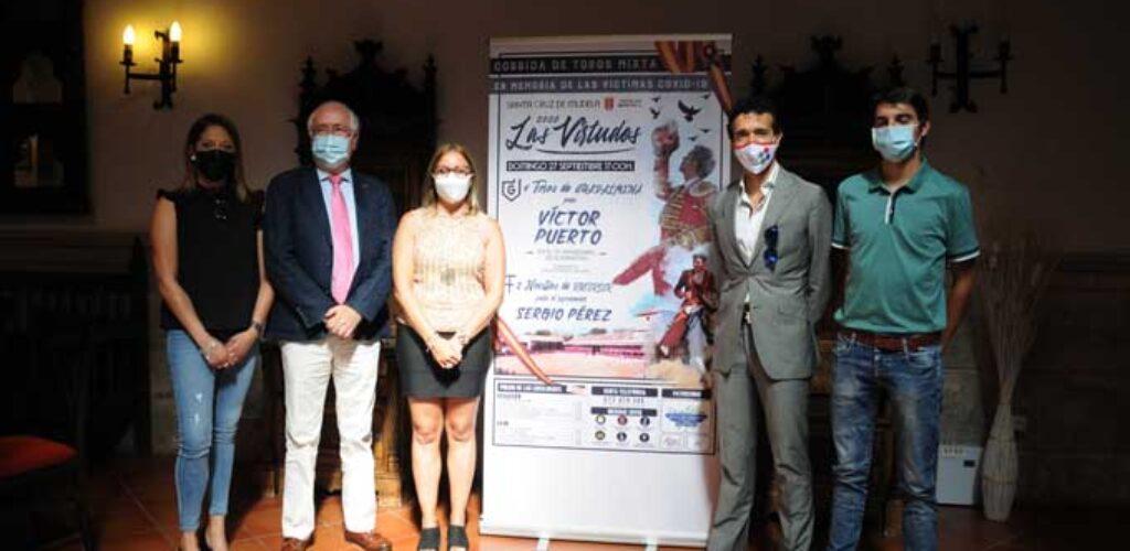 Víctor Puerto toreará cuatro toros en la plaza cuadrada de Las Virtudes en homenaje a las víctimas del COVID-19