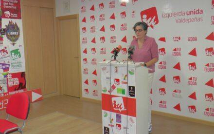 Izquierda Unida Valdepeñas solicita una mayor inversión en la atención primaria sanitaria y agradece el esfuerzo de todo el personal sanitario
