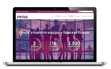 Tecnobit – Grupo Oesía estrena web para atraer talento para sus grandes proyectos tecnológicos internacionales