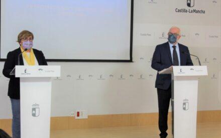 Carmen Olmedo y Casto Sánchez presentan las infraestructuras y servicios solicitados al Gobierno de España para Ciudad Real