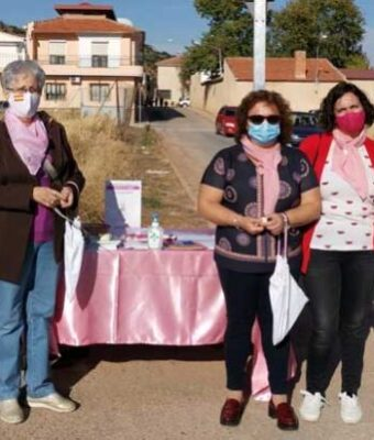 ROSAE realiza cuestación en Carrizosa