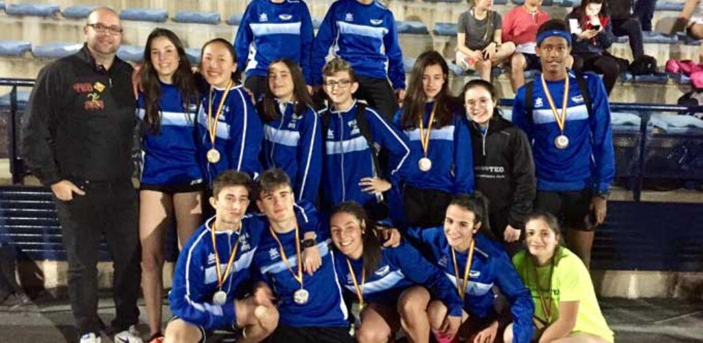 15 atletas del Valdepeñas Athletics Club estarán en el control de marcas que se celebra en Ciudad Real este sábado
