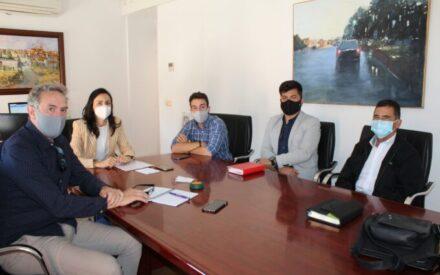 Reunión entre el Ayuntamiento de Villanueva de los Infantes y FECEVAL