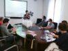 Una delegación de la Diputación ha visitado el Geoparque de La Costa Vasca para conocer más detalles sobre la gestión de estos territorios
